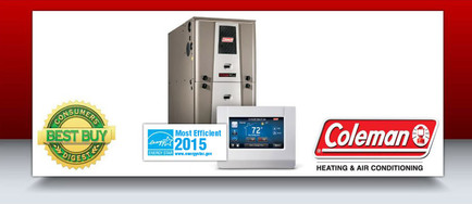 Gas furnace Coleman